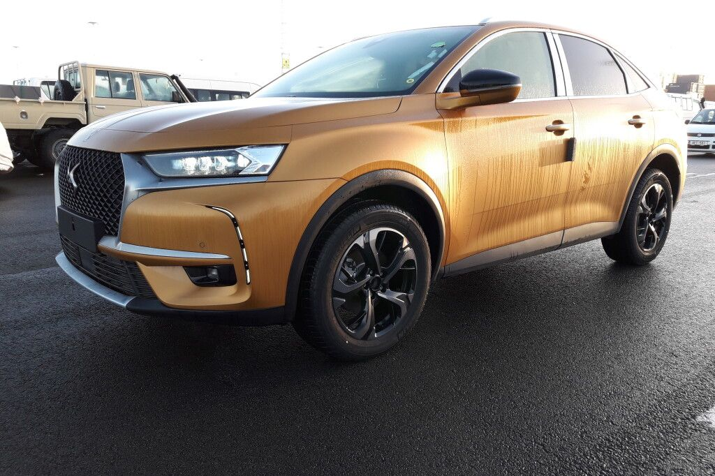 DS 7 Crossback 2018 фото