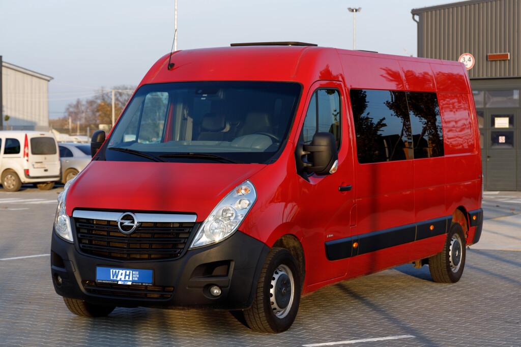 Opel Movano фото