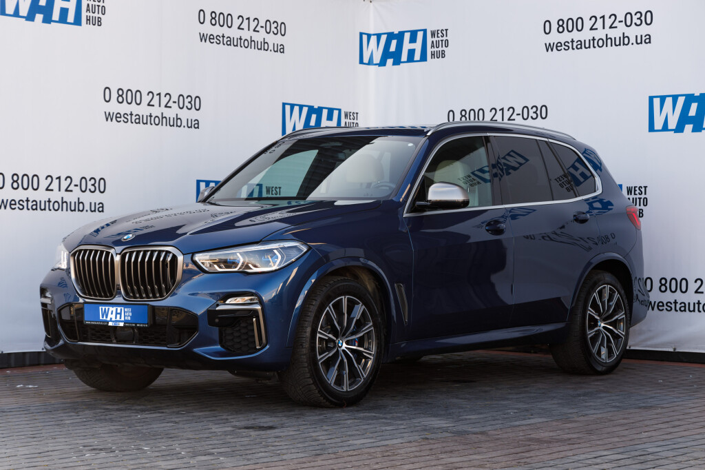 BMW X5 Baureih M50D фото