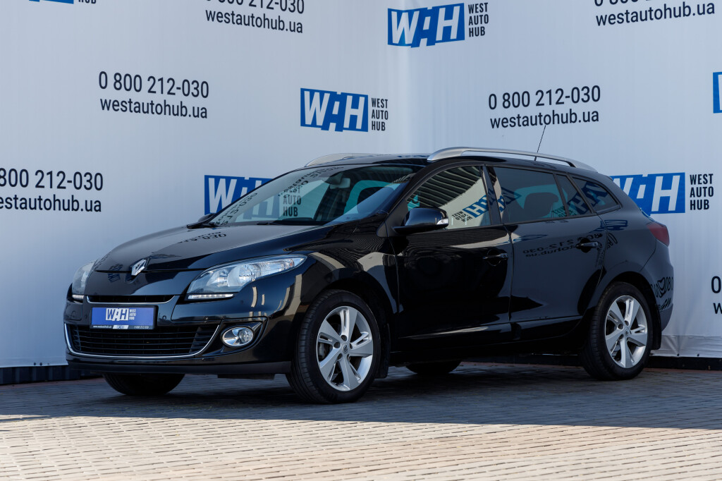 Renault Megane Black Star 2013 фото