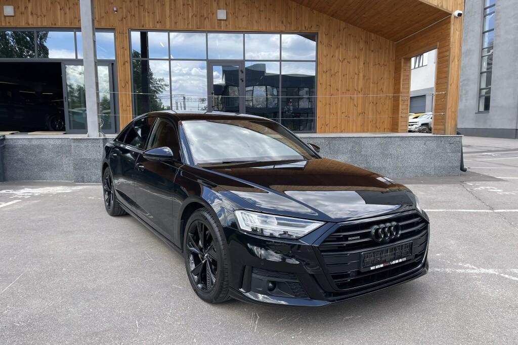 Audi A8 Long Black Stile 2020 фото