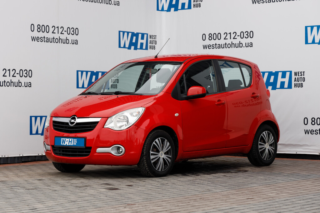 Opel Agila фото