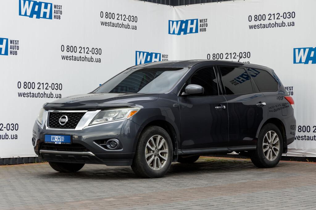 Nissan Pathfinder S 2014 фото