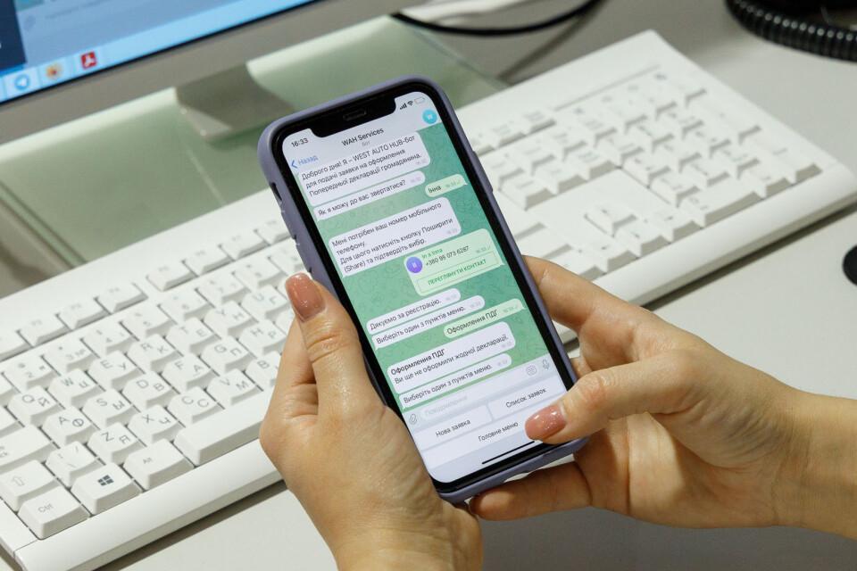 Як зручно та швидко оформити попередню декларацію для громадянина через чат-бот в Telegram фото 1