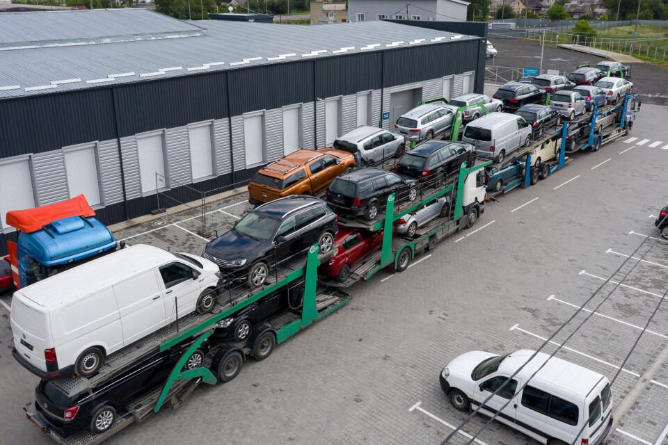 Розмитнення авто в Україні фото